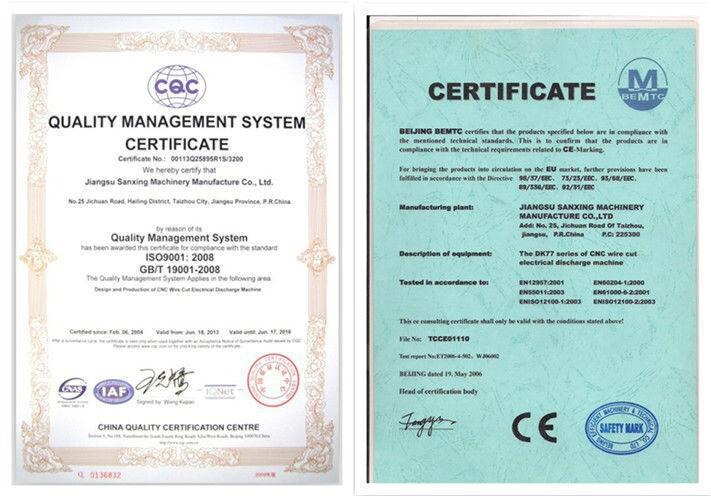 Hot Sale Cnc Spark Erosion Wire Cut Edm Machine Manufacture - Buy ...