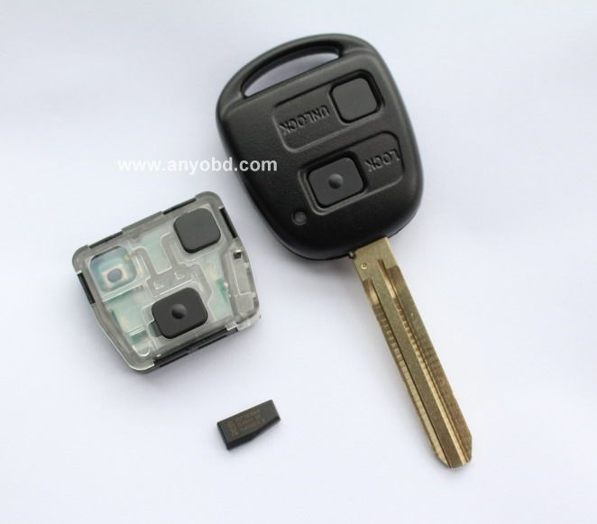 Toyota 89742-0C020 Remote Control Transmitter for Keyless Entry and Alarm System