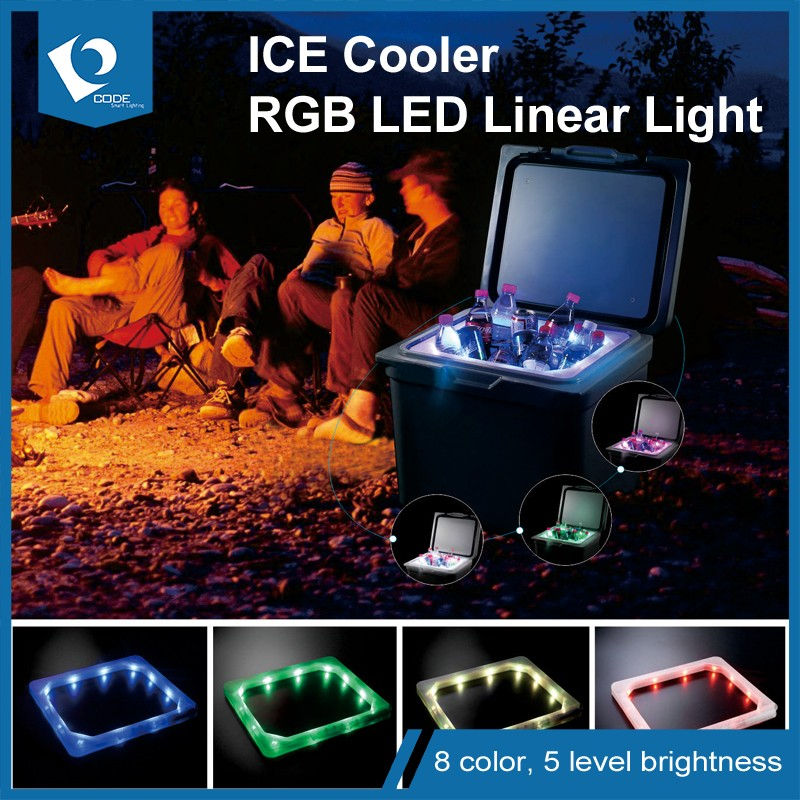 LED Light up Cooler Ice Box, Ice Chest Cooler Lighting