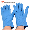 custom logo printed microfiber electronics jewelry black gloves,cleaning gloves,microfiber glove dusters