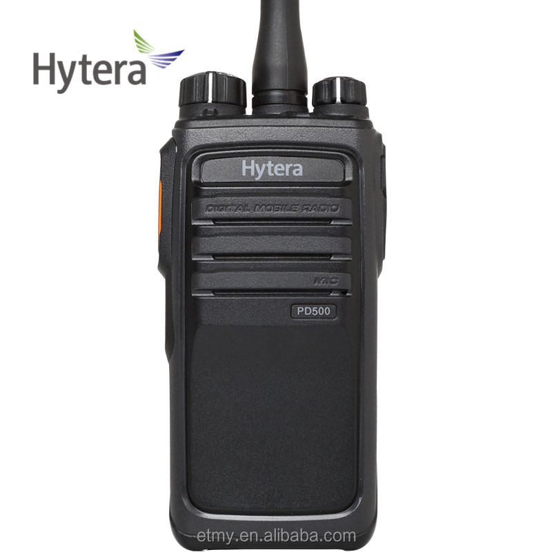 Hytera PD500/PD502/PD505/PD508 handheld commercial digital walkie talkie radio with Retail ,Education ,Security,Warehouse,Hotel