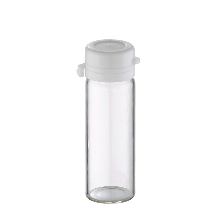 5ml 8ml 10ml skin care essential oil clear glass cylinder tube bottle