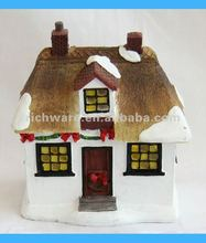 Resin Mini House Christmas Gifts 2012