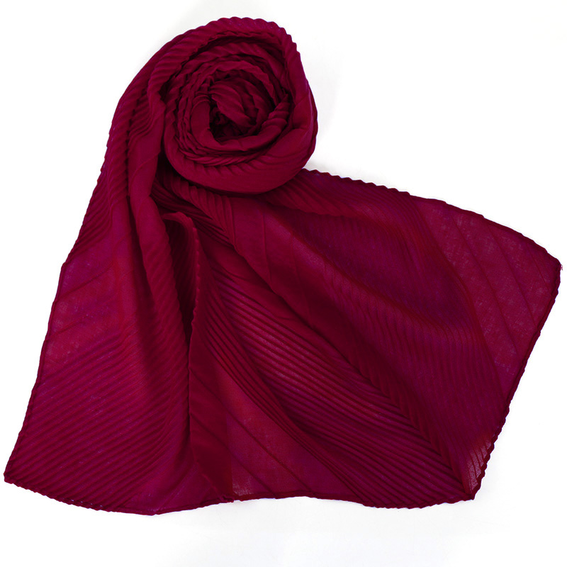 High quality cotton hijab crinke fashion scarves 12 colors available shawl for muslim women