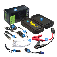 Mini Jump Starter Car Battery Charger Jump Starter with Ce/FCC/RoHS car battery charger jump starter