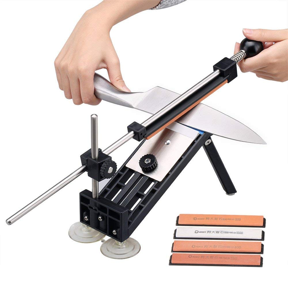 Ruixin Pro I Professional Knife Sharpener Kitchen Sharpening System with 4pcs Whetstones Apex Edge Pro Grindstone PK Pro II III