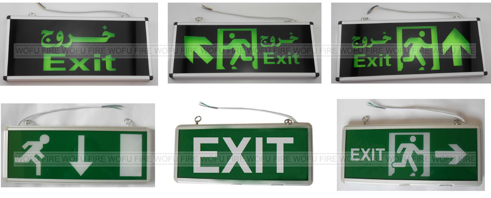 Hanging Type Led Exit Sign,Save Energy Exit Signs