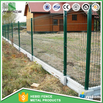 Decorative Welded Wire Mesh Fencing Garden Edging Fence