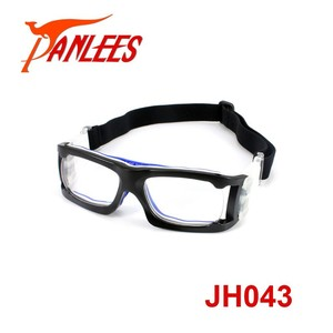 Panlees men guangzhou custom prescription glasses basketball dribble safety glasses football glass frame rubber nose pad goggles