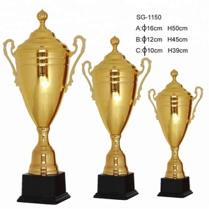 2018 New metal statues brass trophies with best quality whole sale trophy