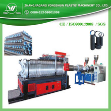 PE PVC double/single wall wall corrugated pipe production/extrusion machine/line/equipment