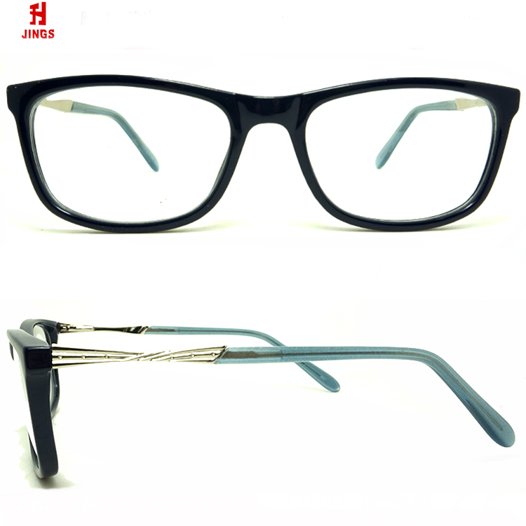 2018 fashion glasses high quality acetate optical eyewear frame made in xiamen,china