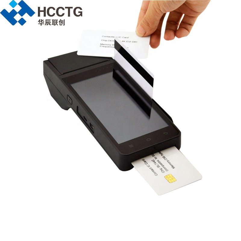 China Bank Bitcoin Alipay Wechat NFC Mini Terminal POS With Signature Pen HCC-Z90