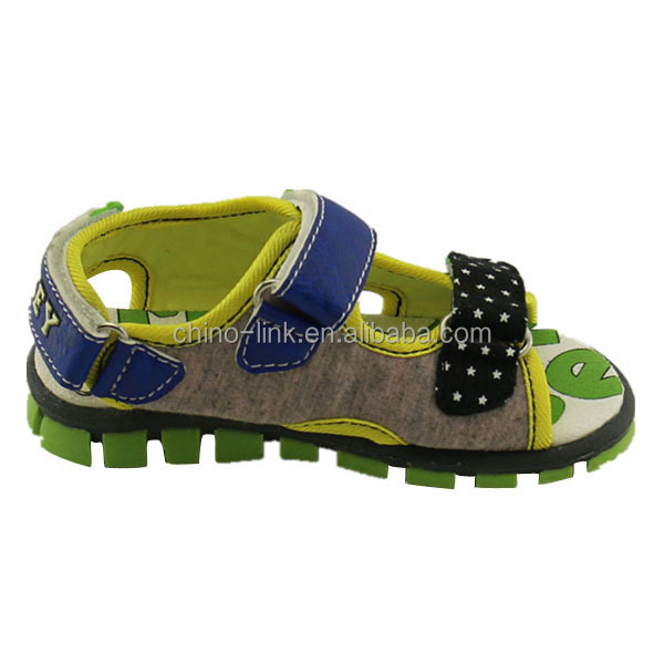 Fancy nice wholesale price newd children sandal kid beach sandal design