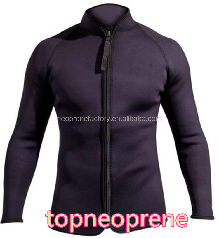 3MM Neoprene Wetsuit Jacket High Quality Scuba Diving Jackets