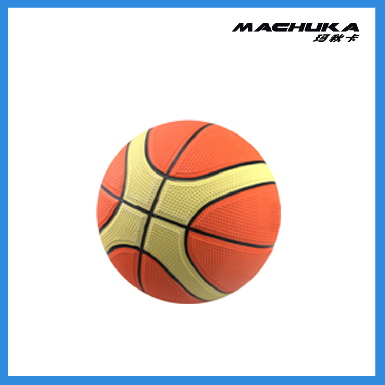 MACHUKA Best Selling Promotional Colorful Ball Rubber Basketball