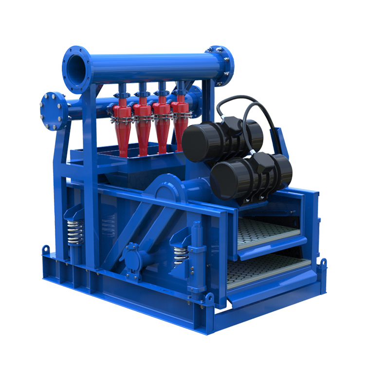 Solids control mud cleaner for drilling fluid cleaning