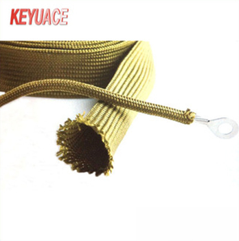 factory direct sale nylon braided sleeve high temperature wear protective wire  harness