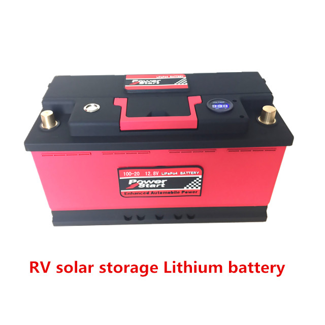 Factory CE ROHS FCC wholesale 2 years warranty LiFePO4 12V 24V 40AH-100AH motorcycle car lithium ion car battery