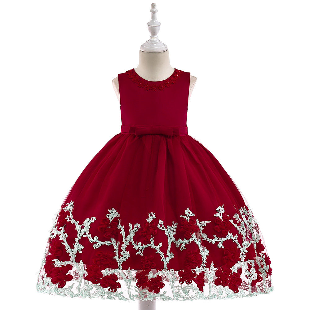 4d6cd42cf New Arrival Kids Party Wear Frocks Girls Embroidered Simple Design ...