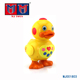 Plastic naughty intelligent yellow music dance duck toy for kids play