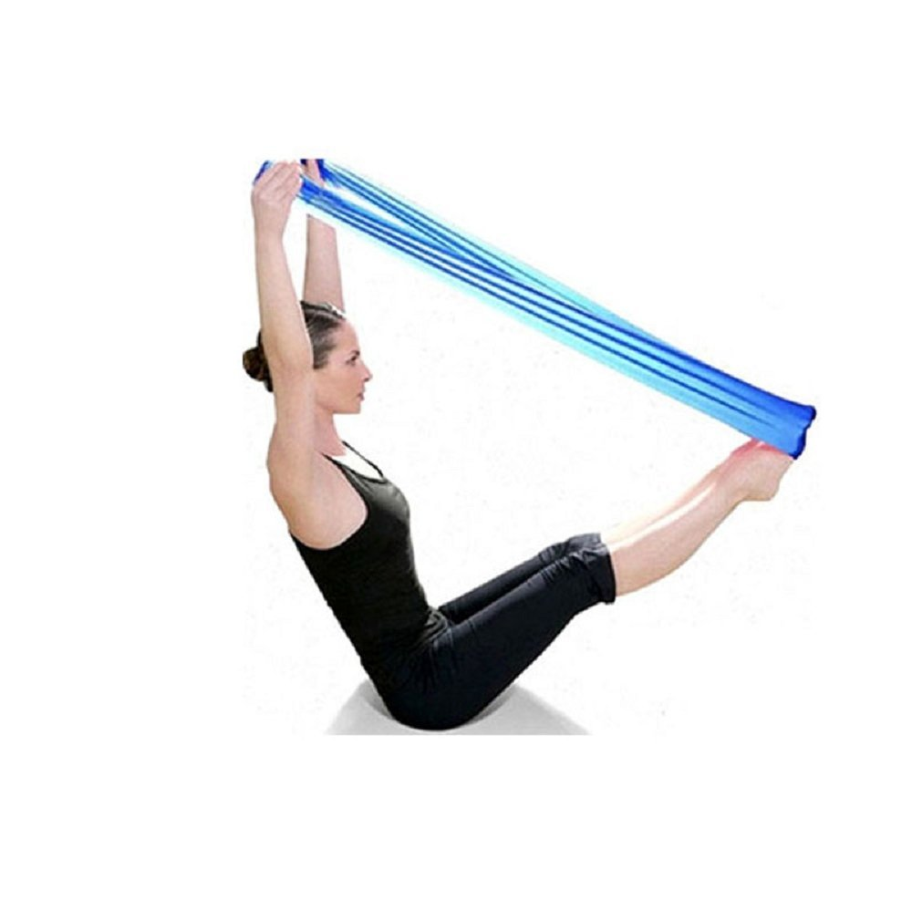 Fullkang New Pilates Yoga Workout Aerobics Stretch Band Tensile Band Elastic Band