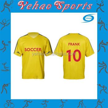 Colombia fútbol personalizada camiseta de fútbol barato fútbol fabricante  diseños ... 8c8cc213d600b