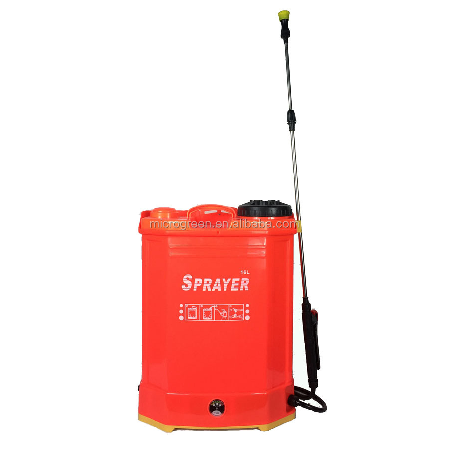 Battery Operated Dynamoelectric 16 Liter Agriculture Knapsack Sprayer
