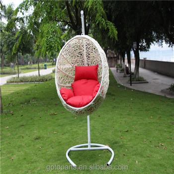 Elegant Patio Swings Indoor Outdoor Furniture Rattan Swing Chair Garden Rattan Nest  Swing Garden Furniture Rattan Wicker