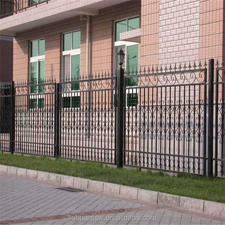 Cast Decorative Residential Ornamental Iron Fence/Cheap Fence Panels
