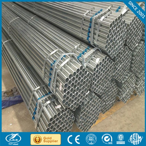 New design galvanized pipe thickness with great price