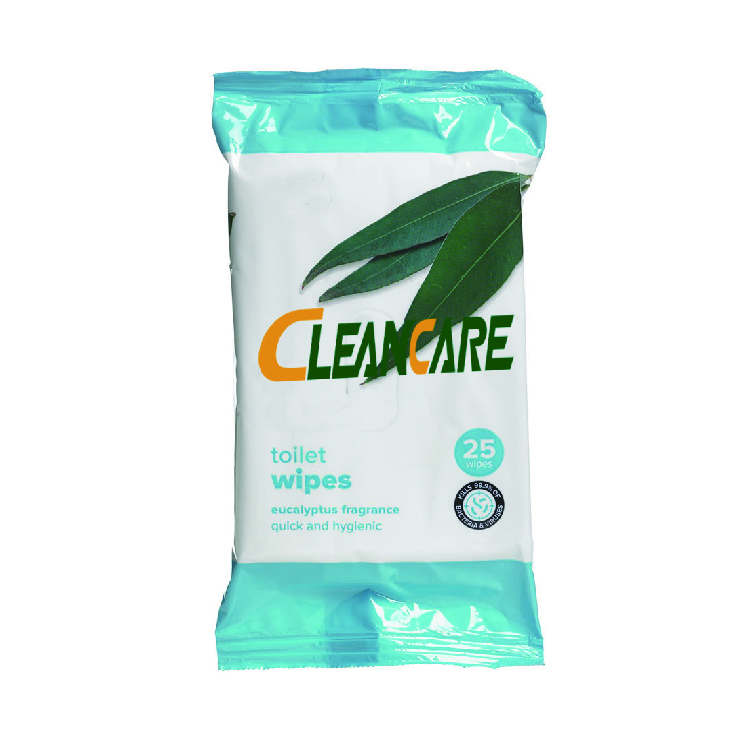 Household Nonwoven Toilet Wipes Disposable Anti-Bacterial Toilet Cleaning Wet Wipes