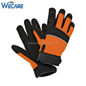 Reflective Stripe Outdoor Sports Arasion Resistant Rope Rescue Safety Gloves