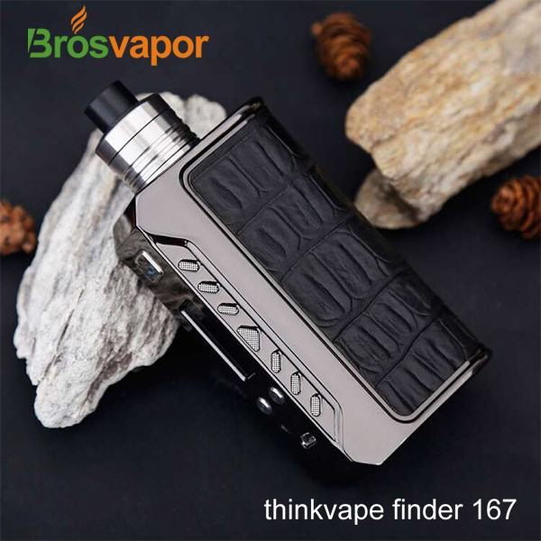 New product vape mod Think Vape Finder DNA 167 Mod Powered by Evolv DNA 167 chip