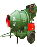 Hand gasoline concrete mixer with robin engine