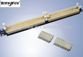 high quality 100 pair terminal block 110 type wiring block with rh alibaba com Wire Terminal Block Connectors Wire Terminal Block Connectors