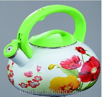 3.5L Enamel whistling kettle/enamel kettle