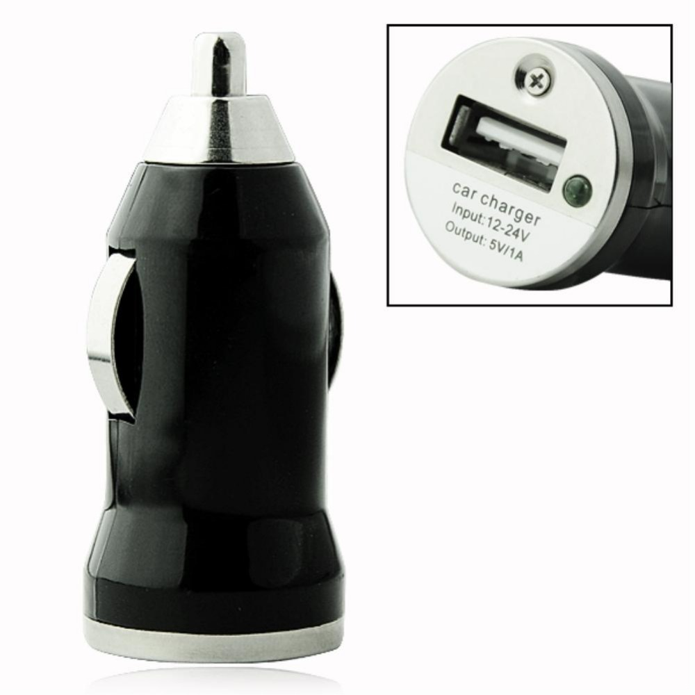 EE4243 Black Multicolor Car Charger For iPhone for iPod USB Port Universal Phone Charger