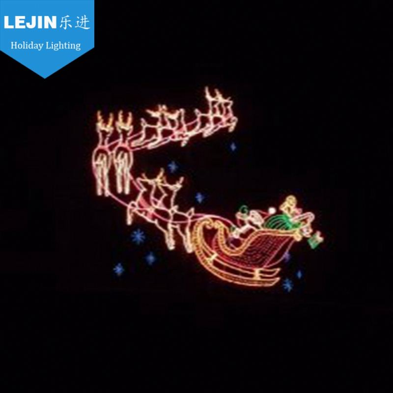 outdoor christmas decoration led light reindeer for sale