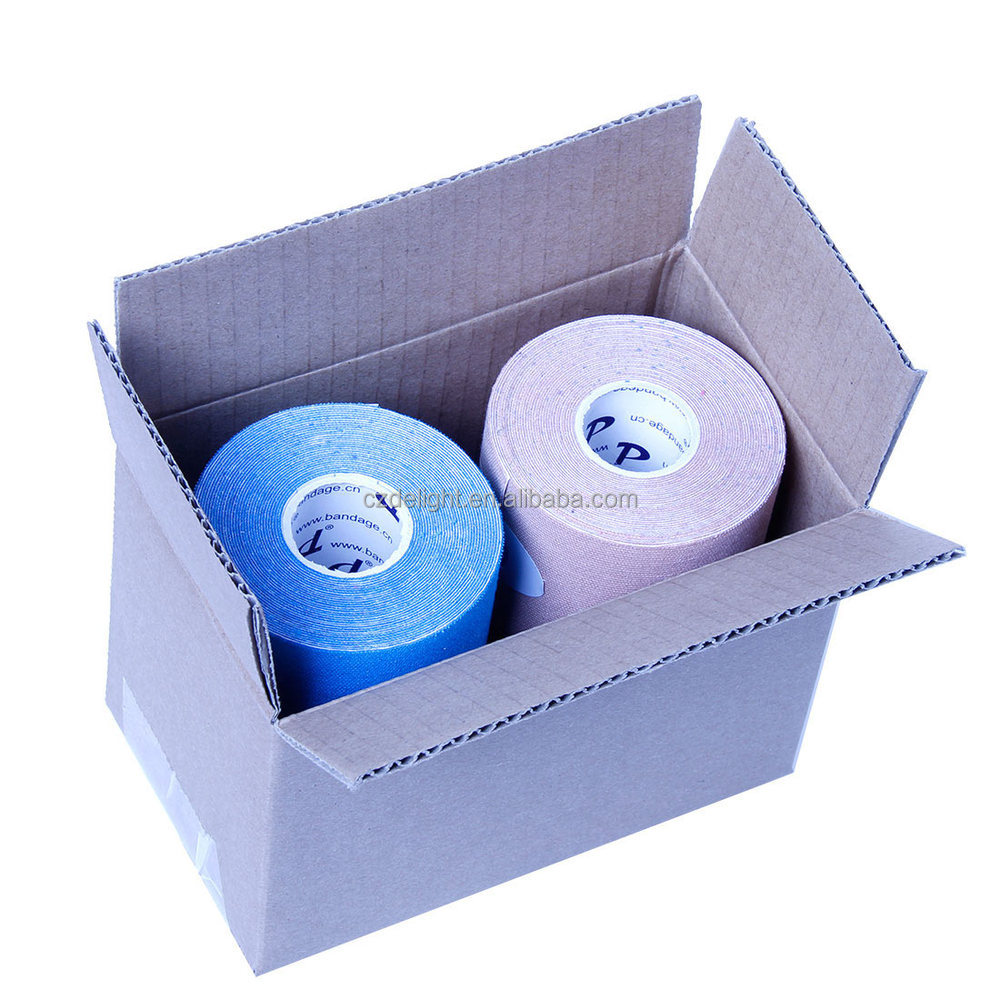 DL Brand 5cm x 5m Kintape (4 rolls/set )Kinesiology tape Strengthen Muscle Protection Pain Relief Plaster for Injury Hot 2015