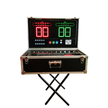 New design LED game Inflatable Interactive Play System Table