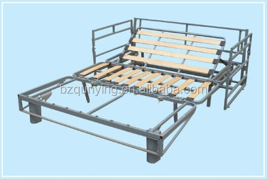 Queen Size Steel Frame Folding Sofa Bed Mechanism