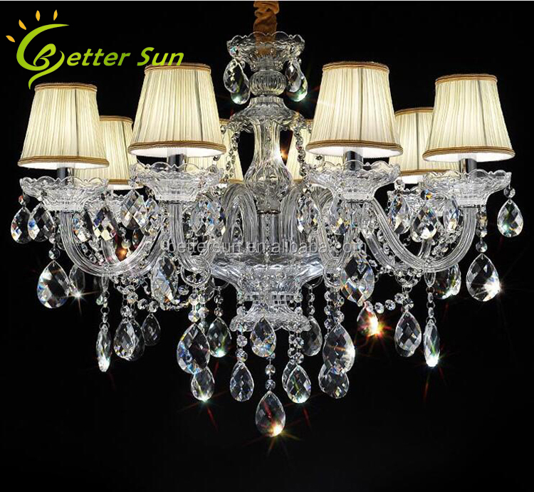 Modern Luxury K9 Crystal Ceiling Malaysia Chandelier For Living ...