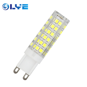 High quality housing lighting indoor Ceramic 3w 5w 7w SMD 2835 G9 corn led bulb
