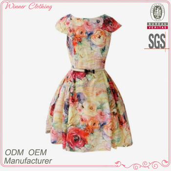 94b5e0343 Moda diseño hermoso con cinturón vestidos de fiesta para niñas de 16 años