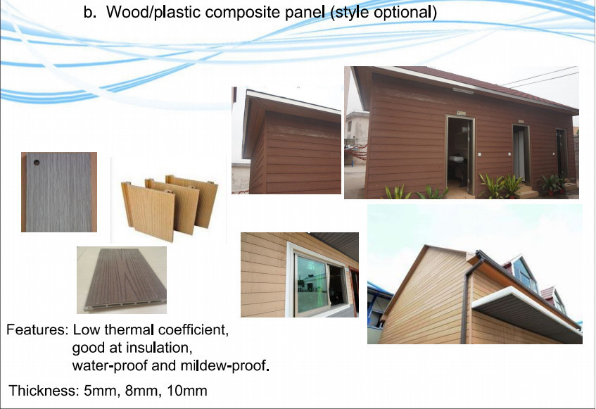 75m2 low cost prefabricated house and wall panels buy for Panel homes prices