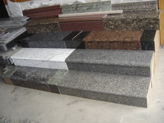 China Building Material Exterior Marble Curved Staircase