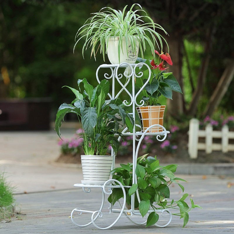 European Design Vertical Garden Flower Holders Shleves