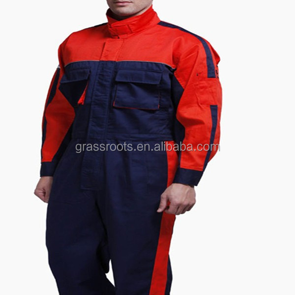 Mens Office Uniform Designs Factory Work Clothes Manufacture Fire Retardant Workwear Coverall Made In China