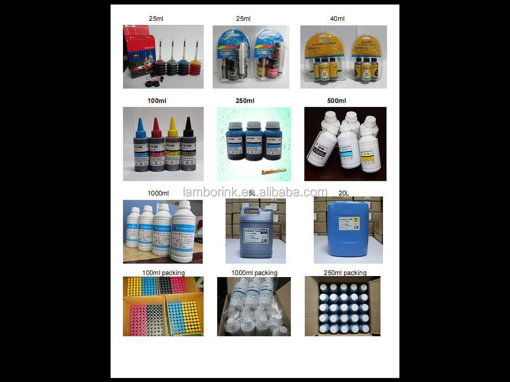 100ml*4 universal refill dye ink all models for HP/Canon/Brother/Samsung/Lexmark/Dell/Leovo etc...